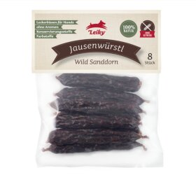 Leiky Jausenwürstl Wild Sanddorn, 8 Stück